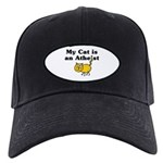 My Cat Is An Atheist Black Cap