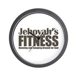 Jehovah's Fitness Wall Clock
