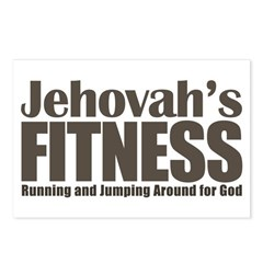 Jehovah's Fitness Postcards (Package of 8)
