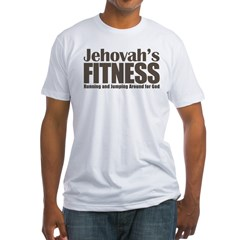 Jehovah's Fitness Fitted T-Shirt