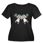 Lesbian Brides Women's Plus Size Scoop Neck Dark T