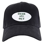 Over & Out Black Cap
