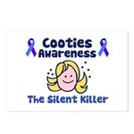 Cooties Awareness Postcards (Package of 8)