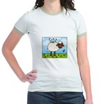 Spring Sheep Jr. Ringer T-Shirt