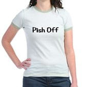  Pish Off Jr. Ringer T-Shirt