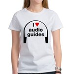 I Love Audio Guides Women's T-Shirt