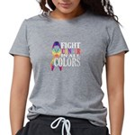Dragon Flying Over Clouds Organic Women's Fitted T