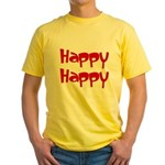 Happy Happy Joy Joy Yellow T-Shirt