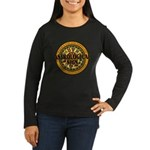 Astrological Sign Women's Long Sleeve Dark T-Shirt