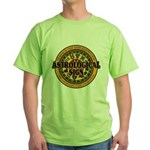 Astrological Sign Green T-Shirt