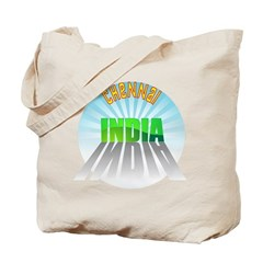Chennai India Tote Bag