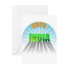 Bhopal India Greeting Card