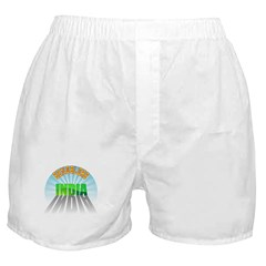 Bangalore India Boxer Shorts
