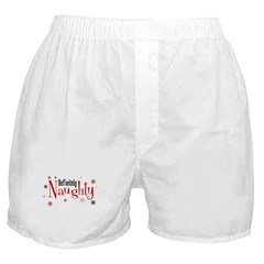 Definitely Naughty Boxer Shorts
