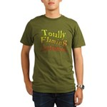 Totally Flaming Autistic Organic Men's T-Shirt (da
