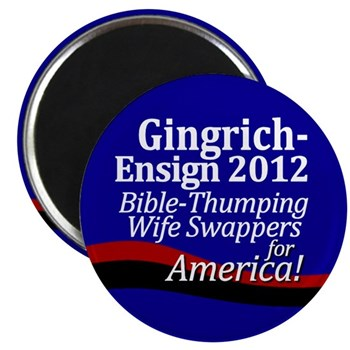 Gingrich-Ensign 2012 Magnet