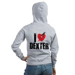 I Heart Dexter *Showtime* Women's Zip Hoodie