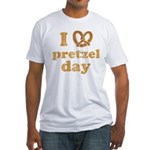 I Pretzel Pretzel Day Fitted T-Shirt