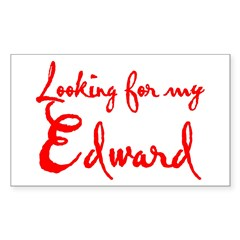 Looking For My Edward Sticker (Rectangle)