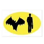 Bat Man Postcards (Package of 8)