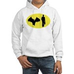 Bat Man Hooded Sweatshirt