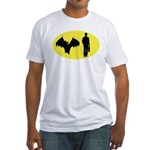 Bat Man Fitted T-Shirt