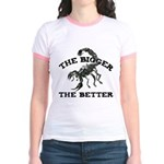 Bigger the Better Jr. Ringer T-Shirt