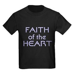 Faith of the Heart Kids Dark T-Shirt