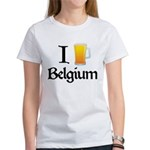 I Love Belgium (Beer) Women's T-Shirt