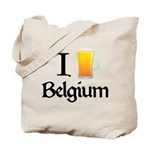 I Love Belgium (Beer) Tote Bag