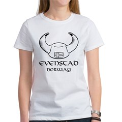 Evenstad Norway Viking Hat Women's T-Shirt