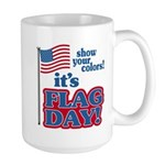 Flag Day Large Mug