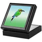 Rainbow Bee-eater Keepsake Box