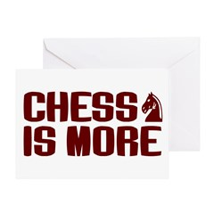 Chess is More Greeting Card