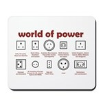 World of Power Mousepad