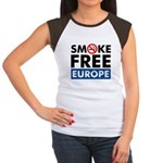Smoke Free Europe Women's Cap Sleeve T-Shirt