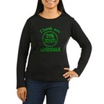 25% Irish - Thank You Grandma Women's Long Sleeve Dark T-Shirt