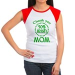 50% Irish - Thank You Mom Women's Cap Sleeve T-Shirt