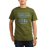 Happiest Places on Earth Organic Men's T-Shirt (dark)