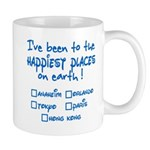 Happiest Places on Earth Mug
