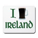 I Love Ireland (beer) Mousepad