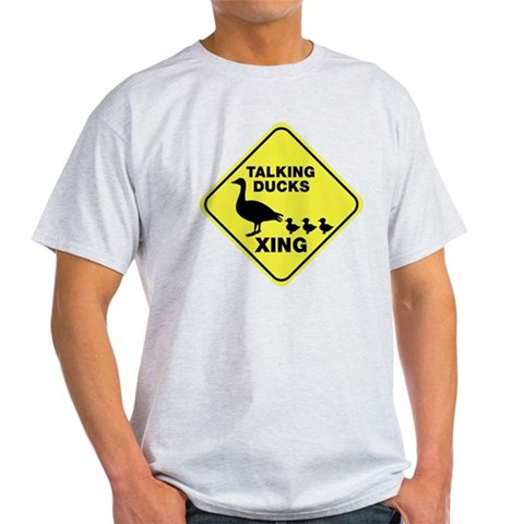 Talking Ducks Crossing Light T-Shirt