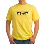 176-617 Yellow T-Shirt