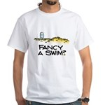 Fancy a Swim? White T-Shirt