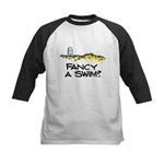 Fancy a Swim? Kids Baseball Jersey