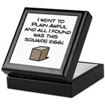 I Went to Plain Awful.. Keepsake Box