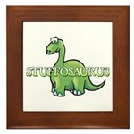 Stuffosaurus Logo Framed Tile