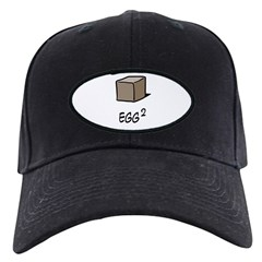 Square Egg Black Cap