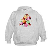  Hawaiian-style 'I'iwi Kids Hoodie