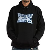 Dives Well With Others Hoodie (dark)